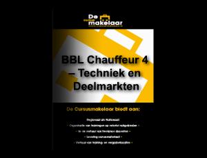 BBL Chauffeur 4 – Techniek en Deelmarkten