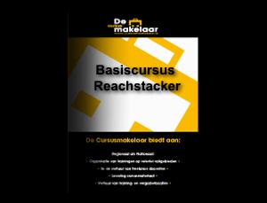 Basiscursus Reachstacker