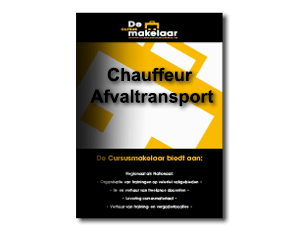 Chauffeur Afvaltransport