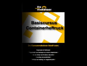 Basiscursus Containerheftruck