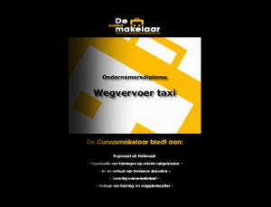 Wegvervoer-taxi