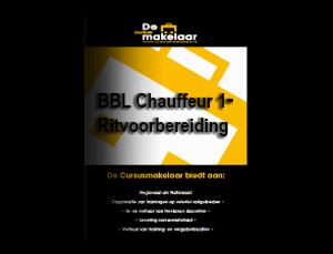 BBL Chauffeur 1 – Ritvoorbereiding
