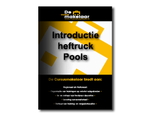 introductie heftruck pools